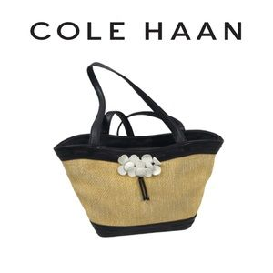 Cole Haan Straw Handbag